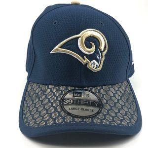 Los Angeles Rams New Era Hat.39/Thirty. Red cap!